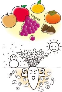 農作物の品質向上イメージ